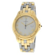 Cartier Cougar Yellow gold 33mm Grey Roman numerals United States of America, New York, New York