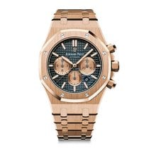 Audemars Piguet Royal Oak Chronograph Blu Dial - 26331or