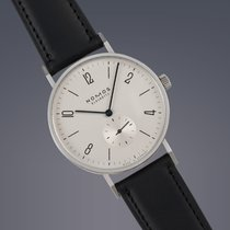 Nomos Pre-Owned  Tangente 38 stainless steel manual wind watch