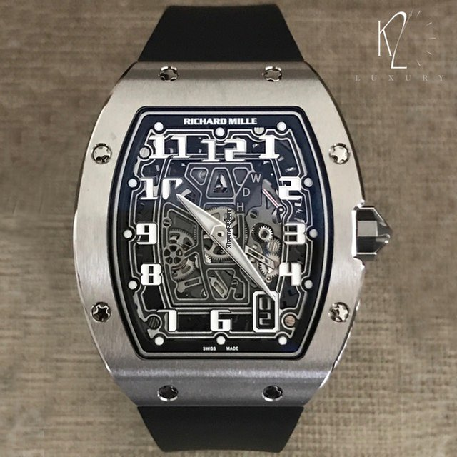 Richard Mille RM 67-01 Titanium Extra-Flat for $96,000 for ...