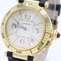 Cartier Pasha Automatic 1889 38mm 18K Gold