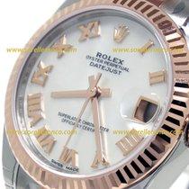 Rolex Datejust 31mm Acciaio e Oro Rosa Madreaperla Numeri Romani
