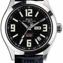 Ball Engineer II Arabic Stahl 40mm Schwarz
