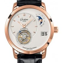 Glashütte Original PanoLunar Tourbillon Or rose 40mm Argent
