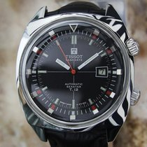 Tissot Seastar T12 1970s Mens Automatic Visodate 42MM Swiss...