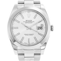 Rolex Datejust Rolex Datejust model 126300 41mm White dial with oyster band 2020 new