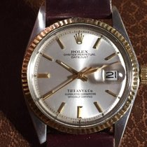 Rolex DateJust Tiffany & Co.  Silver Dial - RARE