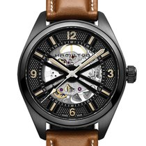 Hamilton Khaki Field Skeleton Steel 42mm