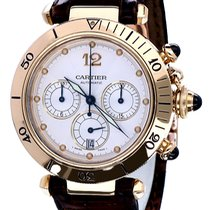 Cartier Pasha Chronograph Yellow Gold Automatic 18 krt (38 mm)