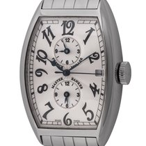Franck Muller Master Banker Steel 32mm Silver Arabic numerals United States of America, Texas, Austin