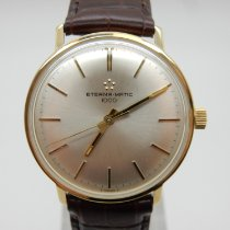 Eterna Yellow gold 34mm Automatic Matic pre-owned