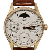 IWC Portuguese Perpetual Calendar Rose gold 42mm Silver Arabic numerals United States of America, California, Los Angeles