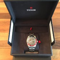 Tudor Black Bay GMT Stahl 41mm Schwarz Keine Ziffern Schweiz, Zürich