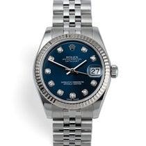 Rolex Acél Automata Kék 31mm használt Lady-Datejust