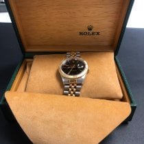 Rolex Datejust Turn-O-Graph Or/Acier 36mm Noir France, le bourget du lac