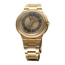 Omega Genève Κίτρινο χρυσό 40mm Χρυσό Xωρίς ψηφία