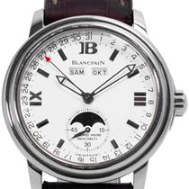 Blancpain Léman Moonphase 2763-1127A-53B 1998 pre-owned