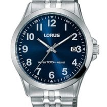 Lorus Steel 38mm Quartz RS973CX9 new