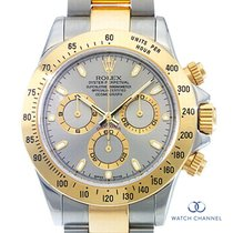 Rolex Daytona Gold/Steel 40mm Black No numerals South Africa, Johannesburg