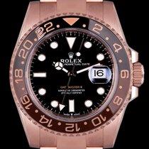 Rolex GMT-Master II Ruzicasto zlato 40mm Crn