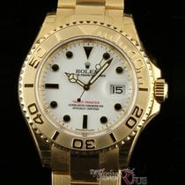 Rolex Yellow gold Automatic White 40mm new Yacht-Master 40