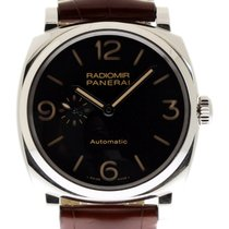 Panerai Radiomir 1940 3 Days Automatic pre-owned 45mm Black Date Leather