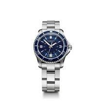 维氏瑞士军表 女士錶 Maverick 34mm 石英 新的 附正版包裝盒和原版文件的手錶