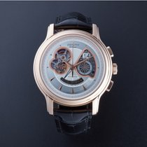 Zenith Rose gold Automatic Silver No numerals 45mm pre-owned