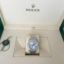 Rolex Day-Date 18966-72746 Velmi dobré Platina 39mmmm Automatika