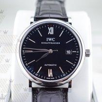 萬國 IW356502   Portofino Automatic Blk Dial
