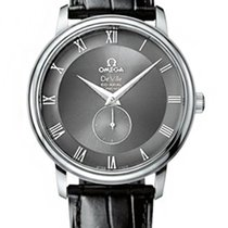 Omega De Ville Co-Axial Small Seconds Grey Dial Mens Watch