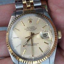 Rolex Datejust Jubilee 16013 Tuxedo Dial 36mm 16013