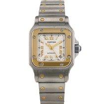 Cartier Santos en or et acier Ref : 2423 Vers 2000