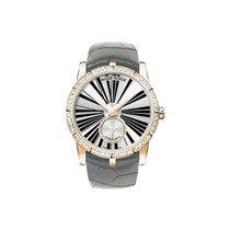 豪爵  (Roger Dubuis) DBEX0275 Excalibur 36mm Automatic in Rose...