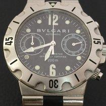 Bulgari Diagono chronograph stainless steel