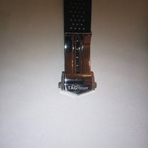 TAG Heuer watch strap and buckle, 24mm