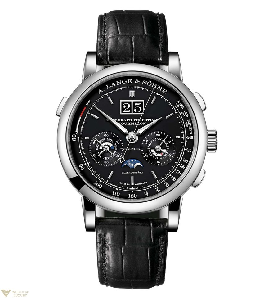 a lange s hne datograph perpetual tourbillon platinum men s f r preis auf anfrage kaufen. Black Bedroom Furniture Sets. Home Design Ideas