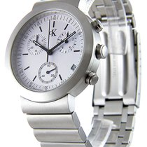 ck Calvin Klein Steel 40mm Quartz K2171 new