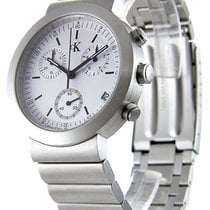 ck Calvin Klein new Quartz Quick Set 40mm Steel Mineral Glass