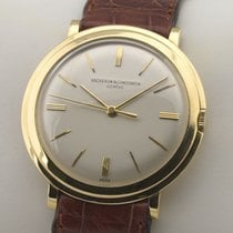 Vacheron Constantin Patrimony Yellow gold 34mm Silver