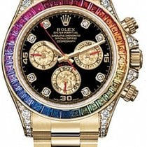 Rolex 116508 Rainbow Daytona new