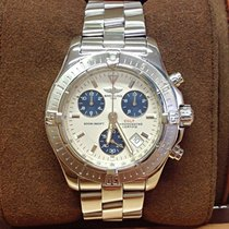 Breitling Colt Chronograph Silver Dial - Box & Papers 2006