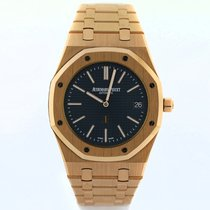 Audemars Piguet 15202OR.OO.1240OR.01 Roségold 2017 Royal Oak Jumbo 39mm gebraucht