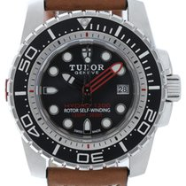 Tudor Hydronaut Steel 45mm Black No numerals