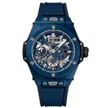 Hublot Big Bang Meca-10 Unico Blue Ceramic Skeleton