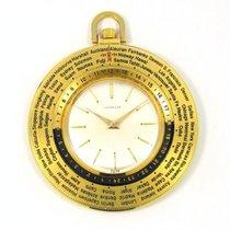 Gübelin antike Gübelin Frackuhr Taschenuhr World Time Weltzeit...