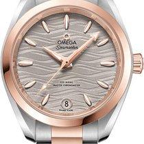 Omega Seamaster Aqua Terra Gold/Steel 34mm Grey United States of America, New York, Airmont