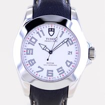Tudor Prince Date Steel 39mm White No numerals