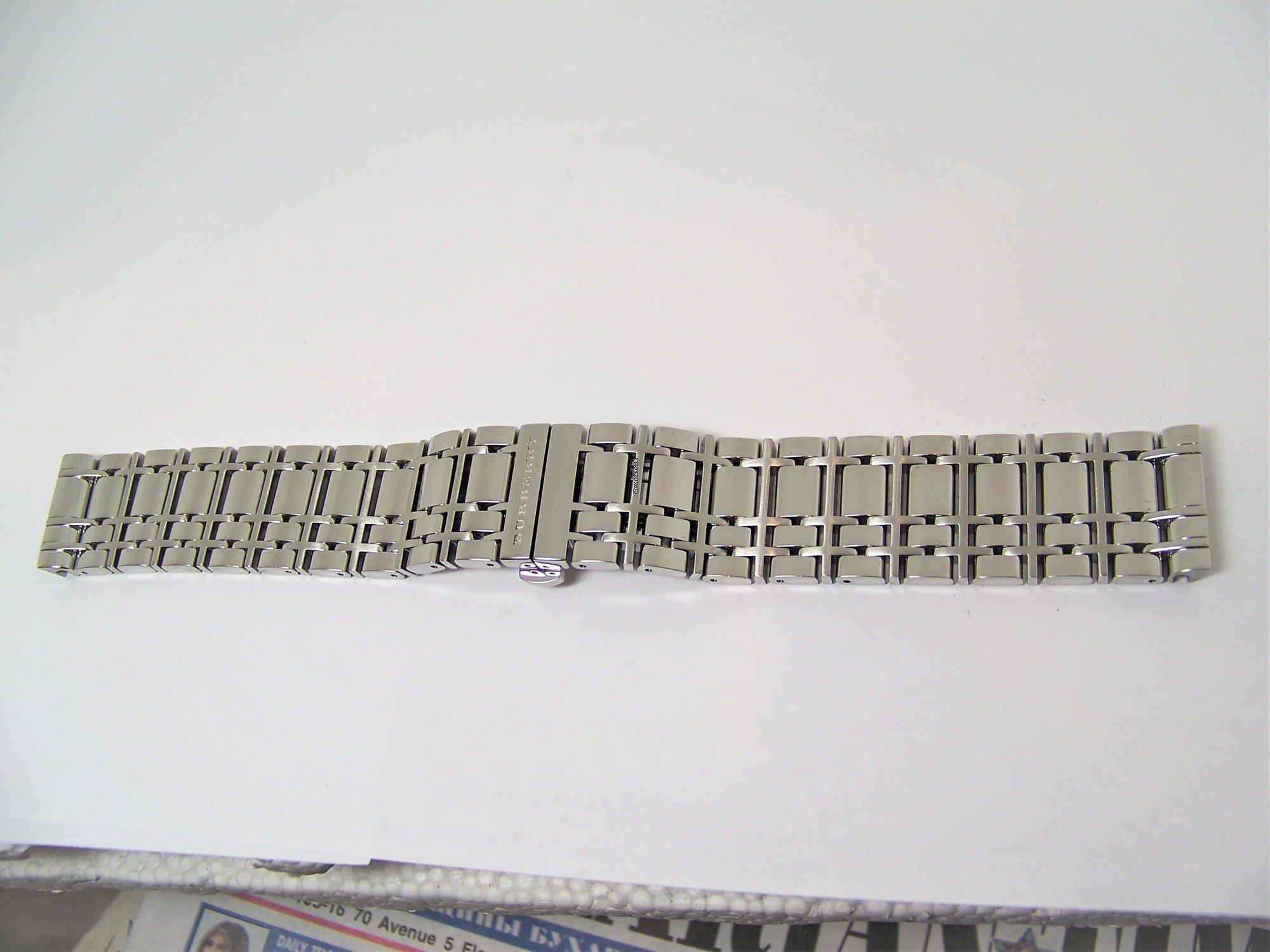 For Watch Bracelet Original Bu1551 Burberry 20 Ssteel Model Ibgfy7Y6v