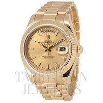 Rolex 218238 Yellow gold Day-Date II 41mm pre-owned United States of America, New York, Hartsdale
